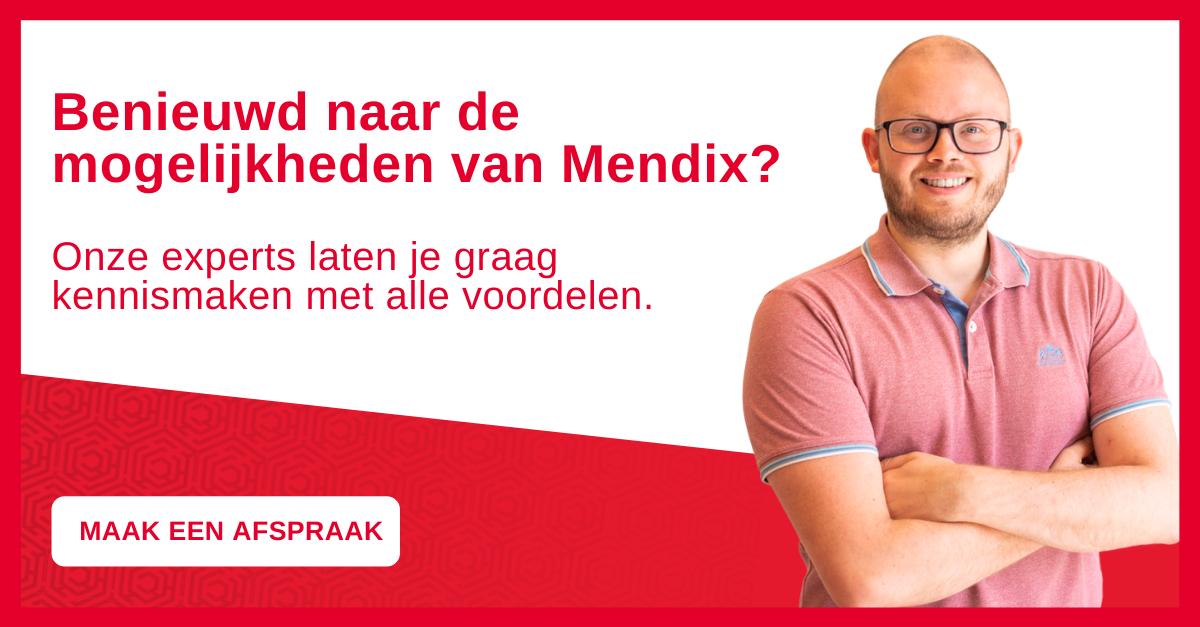 Benieuwd naar de mogelijkheden van Mendix?