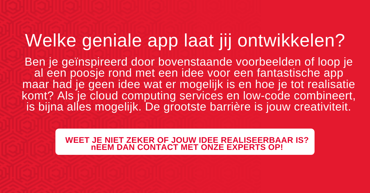 Low-code en cloud computing services: Briljante en schaalbare apps