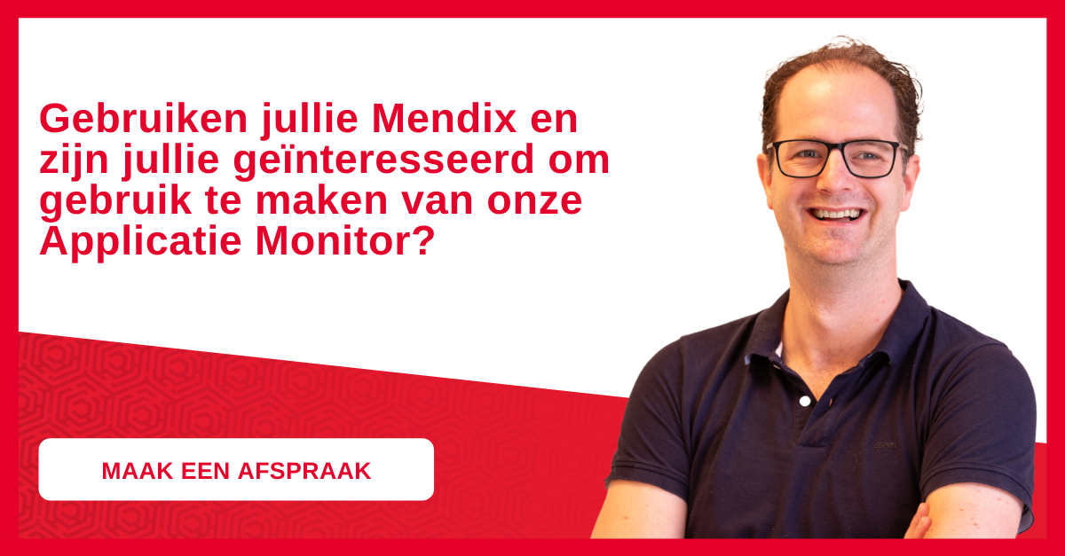applicatie monitor mendix
